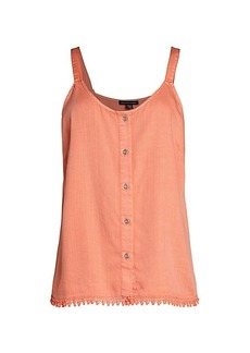 Saks Fifth Avenue Chambray Camisole Top