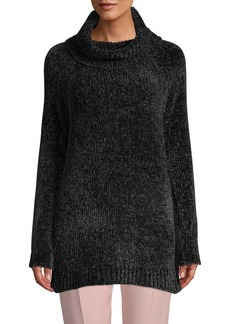 Saks Fifth Avenue Chenille Cowlneck Tunic Sweater