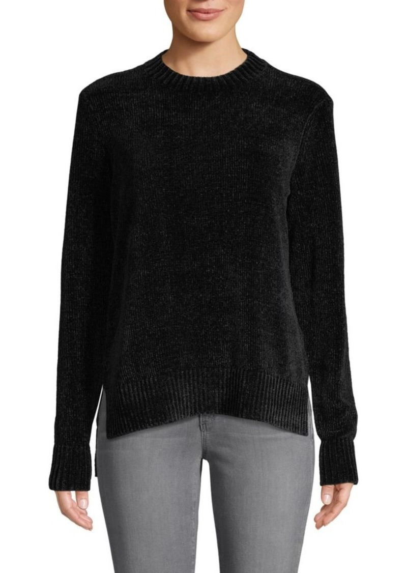 Saks Fifth Avenue Chenille Long-Sleeve High-Low Sweater