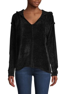 Saks Fifth Avenue Chenille Ribbed Hoodie