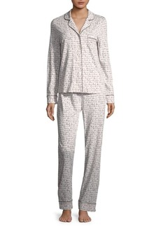 Saks Fifth Avenue Classic Knit Pajamas