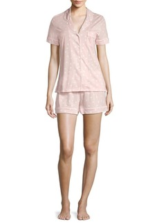 Saks Fifth Avenue Classic Knit Short Pajama Set