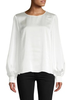 Saks Fifth Avenue Classic Long-Sleeve Top