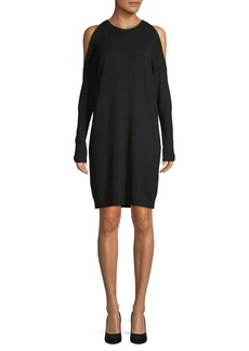 Saks Fifth Avenue Cold-Shoulder Knit Dress