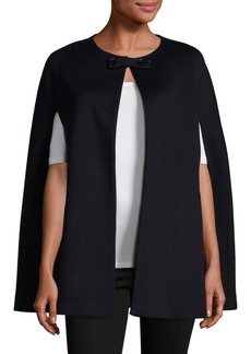 Saks Fifth Avenue COLLECTION Anna Wool Cape