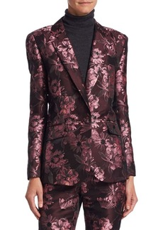 Saks Fifth Avenue COLLECTION Brocade Blazer
