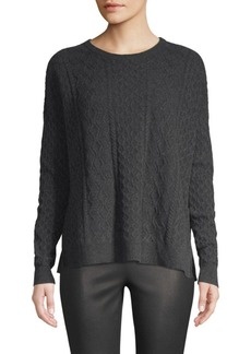Saks Fifth Avenue COLLECTION Cashmere Cable Knit Sweater