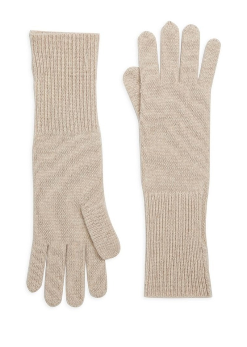 Saks Fifth Avenue COLLECTION Cashmere Knit Gloves
