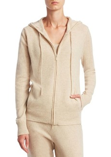 Saks Fifth Avenue COLLECTION Cashmere Modern Zip Hoodie