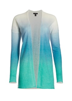 Saks Fifth Avenue COLLECTION Cashmere Ombre Cardigan Sweater