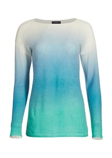 Saks Fifth Avenue COLLECTION Cashmere Ombre Tunic Sweater