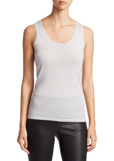 Saks Fifth Avenue COLLECTION Cashmere Shell