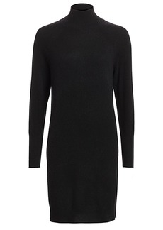 Saks Fifth Avenue COLLECTION Cashmere Turtleneck Sweater Dress