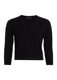 Saks Fifth Avenue COLLECTION Cropped Cardigan