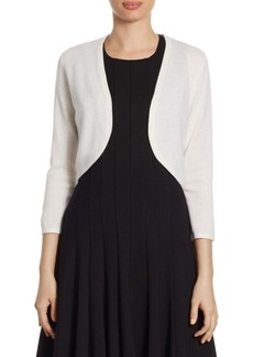 Saks Fifth Avenue COLLECTION Cropped Cashmere Bolero