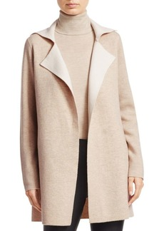 Saks Fifth Avenue COLLECTION Doubleface Wool & Cashmere Sweater Coat