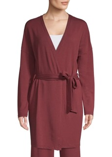 Saks Fifth Avenue COLLECTION Hattie Classic Wrapped Robe