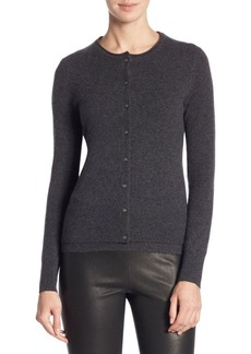 Saks Fifth Avenue COLLECTION Long Sleeve Cashmere Cardigan