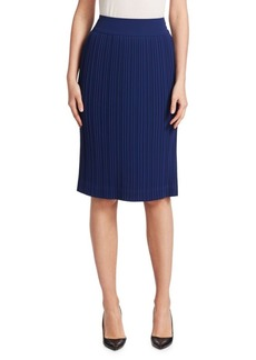 Saks Fifth Avenue COLLECTION Pleated Midi Skirt