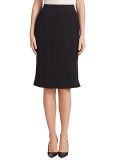 Saks Fifth Avenue COLLECTION Pleated Midi Skirt