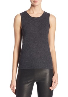 Saks Fifth Avenue COLLECTION Roundneck Cashmere Shell