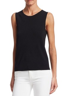 Saks Fifth Avenue COLLECTION Sleeveless Shell Top