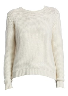 Saks Fifth Avenue COLLECTION Textured Cashmere Sweater