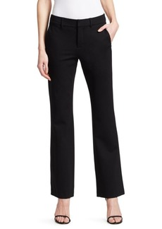 Saks Fifth Avenue COLLECTION Zip Front Ankle Trousers