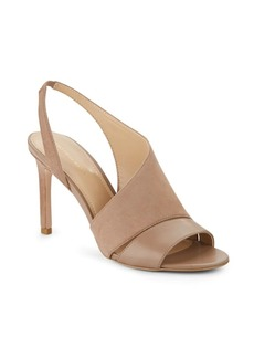 Saks Fifth Avenue Colton Suede & Leather Sandals