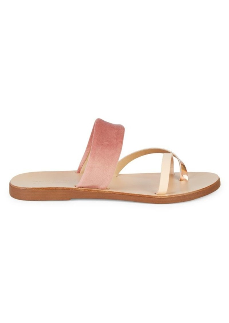 Saks Fifth Avenue Contrast Strap Sandals