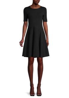 Saks Fifth Avenue Cotton-Blend Fit-&-Flare Dress