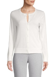 Saks Fifth Avenue Cotton, Silk & Cashmere Blend Cardigan