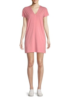 Saks Fifth Avenue Cotton T-Shirt Dress