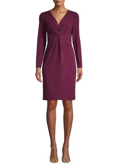 Saks Fifth Avenue Crepe Long-Sleeve Dress