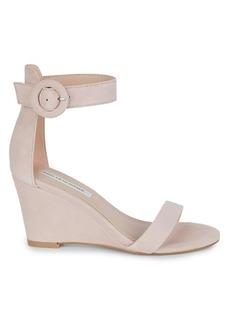 Saks Fifth Avenue Daisie Suede Wedge Sandals