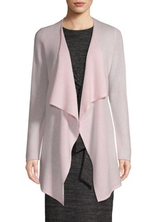 Saks Fifth Avenue Drape Cashmere Cardigan