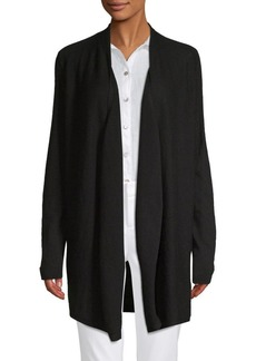 Saks Fifth Avenue Drape Front Cardigan