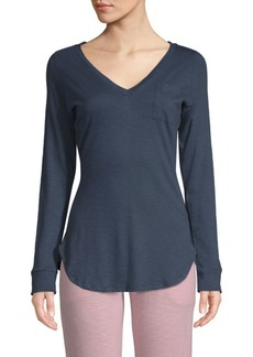 Saks Fifth Avenue Ellie Long-Sleeve Tee