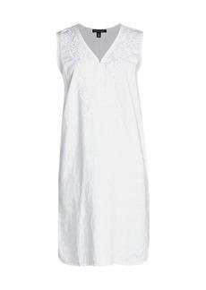 Saks Fifth Avenue Embroidery Shift Dress