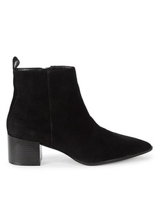 Saks Fifth Avenue Emerson Suede & Leather Croco Chelsea Boots