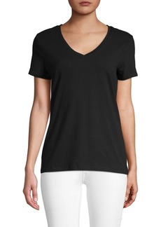 Saks Fifth Avenue Essential Fit V-Neck Tee
