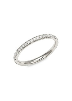 Saks Fifth Avenue Eternity Lady 14K White Gold, & Diamond Ring