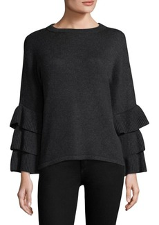 Saks Fifth Avenue Exclusive Ruffle-Sleeve Sweater