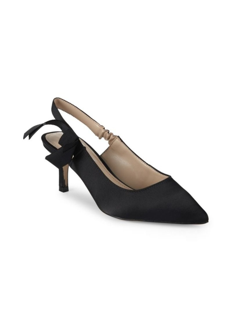 Saks Fifth Avenue Farry Bow Slingback Pumps