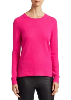 Saks Fifth Avenue COLLECTION Featherweight Long Sleeve Cashmere Sweater
