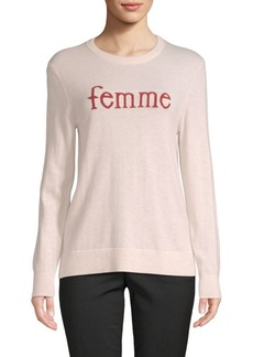 Saks Fifth Avenue Femme Crewneck Sweater