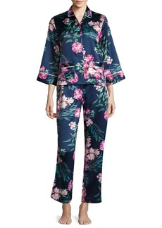 Saks Fifth Avenue Floral Pajamas