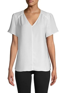 Saks Fifth Avenue Flutter-Sleeve Top
