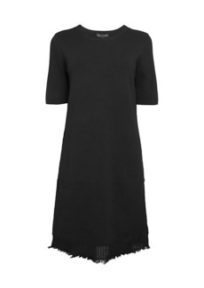 Saks Fifth Avenue Fringe Short-Sleeve Dress