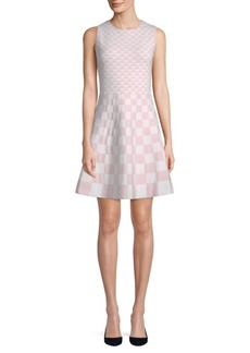Saks Fifth Avenue Geometric Sleeveless Dress